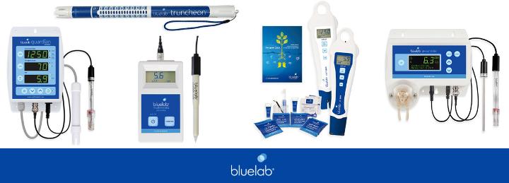 Špičkové měřící přístroje pH, EC Bluelab