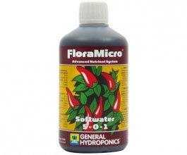 General Hydroponics FloraMicro pro měkkou vodu, 500ml